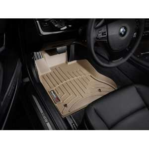 F10/F11) Tan WeatherTech Floor Liner (Full Set) [Non All Wheel Drive