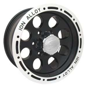 16x10 ION Alloy Style 174 (Black) Wheels/Rims 6x139.7 (174