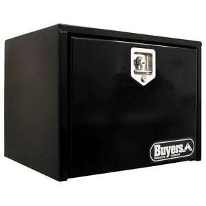 Buyers 30 In Underbody Truck Box Black w/T Handle Automotive