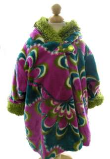 Corky and Company Girl Winter Coat Purple Pucella