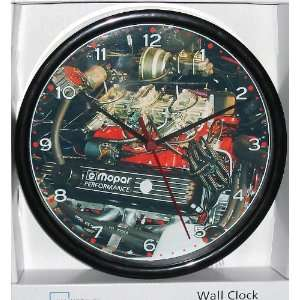 Mopar Dodge Charger 440 ci Six Pack, Custom Wall Clock