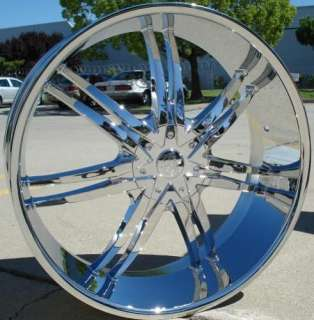 24 INCH RIM WHEEL CHROME PKG 6X135 6X139 BENTCHI B14