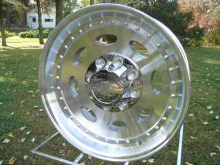 19.5 X 7.50 VISION ALUM SINGLES DODGE CHEVY FORD WHEELS