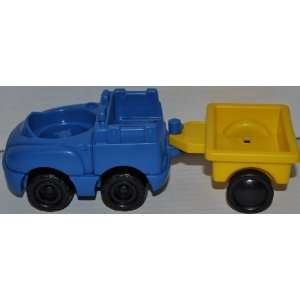 Blue Truck & Yellow Trailer (2001)   Replacement Figure   Classic