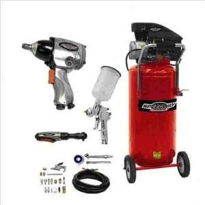 Speedway 8502 15 Gallon Vertical Air Compressor Kit