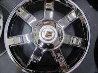 Four 07 10 Cadillac Escalade ESV EXT Factory 22 Chrome Wheels OEM