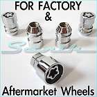Brand NEW HYUNDAI Wheel/Rim Lug Lock Nut Set 12x1.5