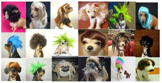 pet dog wigs , best gift to your pet