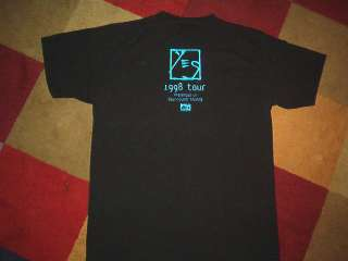 YES CONCERT SHIRT classic prog rock band tour LARGE