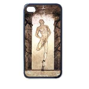 P The Hanged Man 4/4s Seamless Case (Black) Electronics
