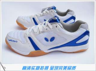 Butterfly Ping Pong/Table Tennis Shoes WWN 6, Brand New clourblue