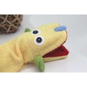 Puppy Dog Wash Cloth Hand Puppet Toys & Games