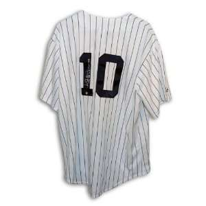 Chris Chambliss Autographed New York Yankees Pinstripe Majestic Jersey