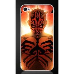 DARTH MAUL from Star Wars iPhone 4 Skin Decals #1 x2
