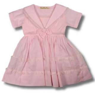 Baby Girls Vintage Sarah Pink Party Dress Clothing