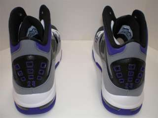 Mens Nike Air Jordan Flight 23 RST Black White Cool Grey Club Purple