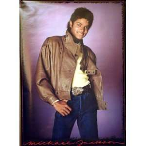 Michael Jackson 20x28 Thriller Era Poster 1983 Everything