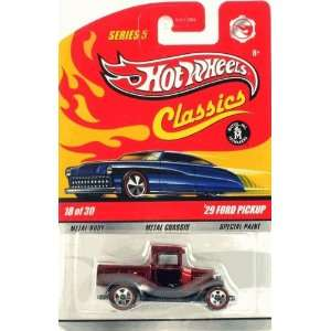 (RED) Hot Wheels Classics 164 Scale Die Cast Vehicle Toys & Games