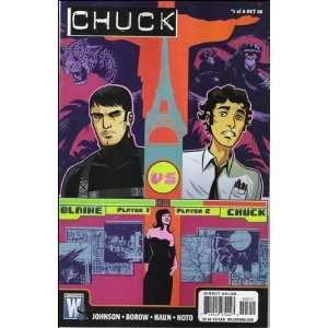 Chuck (from the hit TV series) Complete Set Issues #1 6