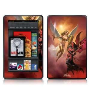 Angel vs Demon Design Protective Decal Skin Sticker