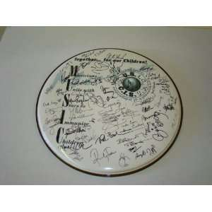 Beatles Ringo Star plus 50 Autographed Signed Drumhead