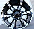 Fairway Alloys 12 x 7 Bullet Golf Cart wheels tires