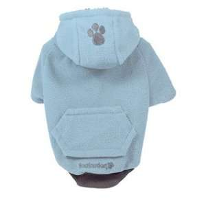 Fou Lar Fleece Dog Hoody in Blue