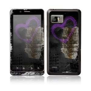 Urban Love Design Protective Skin Decal Sticker for Motorola Droid