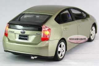 New 132 Toyota Prius Alloy Diecast Model Car With Sound&Light