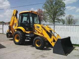 JCB 3cx14 backhoe loader w/ case 580 bucket