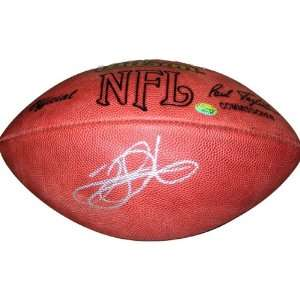 Clinton Portis Autographed Football