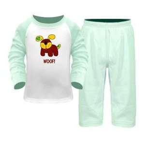 Cute Puppy 2 Piece Pant Set Baby Girl or Baby Boy Clothing Baby