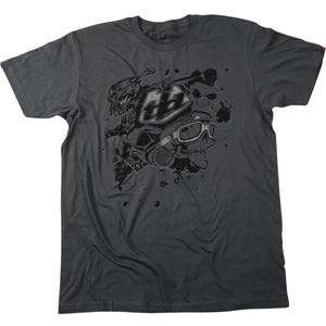 Troy Lee Designs Skullface Slim Fit T Shirt   Medium