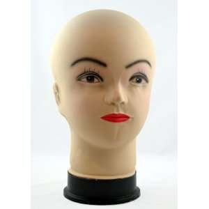 Female Bald Mannequin Wig Display Head Beauty