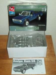 AMT DODGE RAM 50 MINI TRUCK MODEL KIT