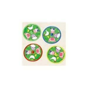 Barnyard Spin Tops Assorted Toys & Games