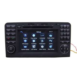 Mercedes benz ML350 Car GPS Navigation DVB T DVD Player