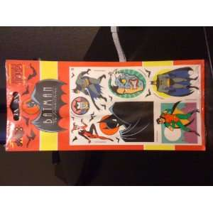 Batman Animated Series Vintage Stickers (1993) Everything