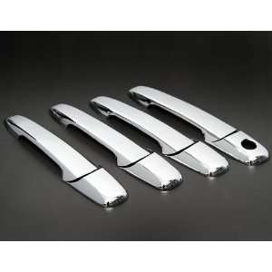 Sporty Custom Look Chrome Trim Door Handle Cover Kit without Passenger