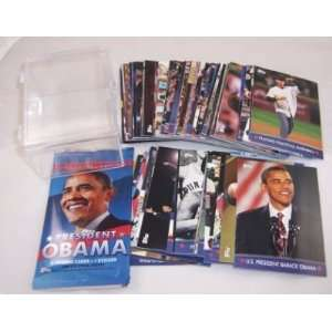 Topps Barack Obama Inaugural Edition Trading Card Complete