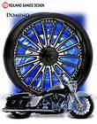 pm rsd performance machine domino motorcycle wheels har baggers flh