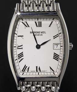Raymond Weil Toccata Mens Stainless Steel Watch Ref #5573