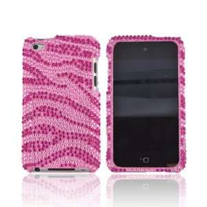 Baby Pink Gems Bling Hard Plastic Shell Case Snap On Cover + Crowbar