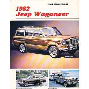 1982 Jeep Grand and Wagoneer Original Sales Brochure