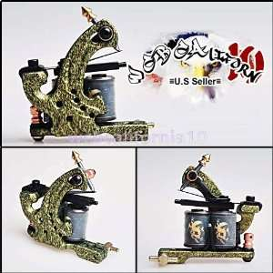 Professional Dual Coiled Cast Iron Tattoo Machine Liner