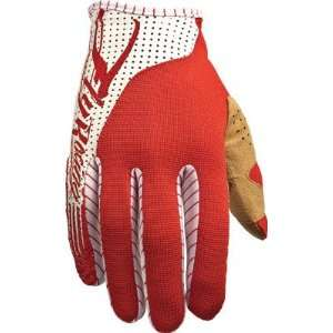 Fly Racing FLY Lite Race Gloves Red/White X large Sports