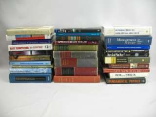 29 Hardcover Book Lot Math/Science/Physics/Education/Learning/Brain