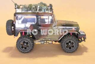 RC 1/10 TAMIYA TRUCK TOYOTA FJ40 LAND CRUISER MILITARY RTR
