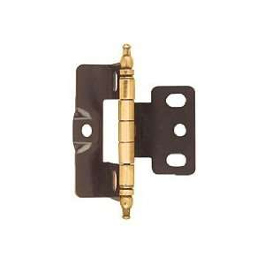 Amerock Functional Hinges Cabinet Hardware Antique Brass