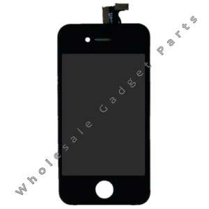 Apple iPhone 4 LCD Black Digitizer Frame Assembly Part